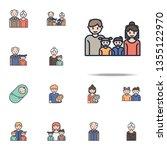 family cartoon icon. family...   Shutterstock . vector #1355122970