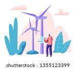 alternative energy sources...   Shutterstock .eps vector #1355123399