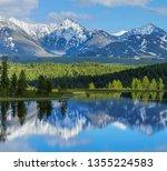 Wild Mountain Lake In The Alta...