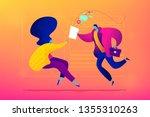 job interview  working... | Shutterstock .eps vector #1355310263