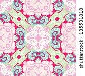 vector seamless floral pattern... | Shutterstock .eps vector #135531818