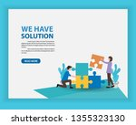 business consulting and...   Shutterstock .eps vector #1355323130