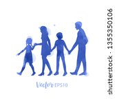 parents having good time with...   Shutterstock .eps vector #1355350106