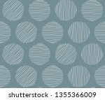 geometric seamless pattern with ... | Shutterstock .eps vector #1355366009