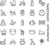 thin line vector icon set  ...   Shutterstock .eps vector #1355423096