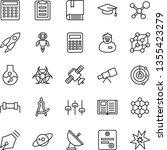 thin line vector icon set  ... | Shutterstock .eps vector #1355423279