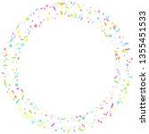 sprinkles grainy. cupcake... | Shutterstock .eps vector #1355451533