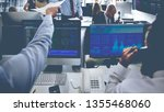investing and stock market... | Shutterstock . vector #1355468060