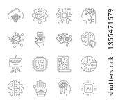 simple set of artificial... | Shutterstock .eps vector #1355471579