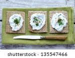 Rye Loaves Sandwich With...
