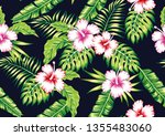 tropical exotic realistic... | Shutterstock .eps vector #1355483060