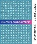 industrial vector icon set...   Shutterstock .eps vector #1355526329