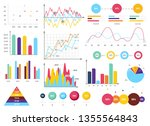 infographic elements collection ... | Shutterstock .eps vector #1355564843