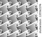 abstract seamless pattern | Shutterstock .eps vector #135562196