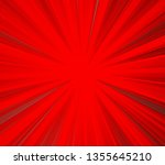 striped and vibrant red colored ... | Shutterstock . vector #1355645210