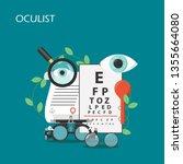 Oculist Vector Flat...
