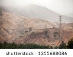 view of the hills around the... | Shutterstock . vector #1355688086
