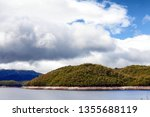 views of lake burbury  which is ... | Shutterstock . vector #1355688119