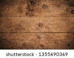 old grunge dark textured wooden ... | Shutterstock . vector #1355690369