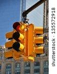 traffic light | Shutterstock . vector #135572918