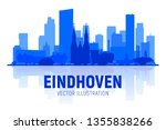 eindhoven the netherlands... | Shutterstock .eps vector #1355838266