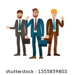 professional business team flat ...   Shutterstock .eps vector #1355859803