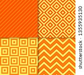 classic geometric patterns... | Shutterstock .eps vector #1355935130