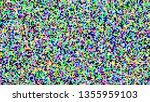 pixel screen background vector. ...   Shutterstock .eps vector #1355959103