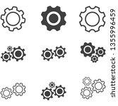 settings icon vector eps 10   Shutterstock .eps vector #1355996459