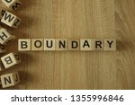 Boundary Word From Wooden...
