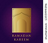 islamic background vector | Shutterstock .eps vector #1355999396