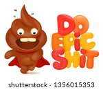 do epic shit concept card with... | Shutterstock .eps vector #1356015353