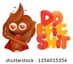 do epic shit concept card with... | Shutterstock .eps vector #1356015356