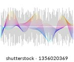gray equalizer isolated on... | Shutterstock .eps vector #1356020369