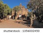 the rock hewn church of wukro... | Shutterstock . vector #1356032450