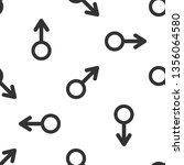 male gender symbol icon... | Shutterstock . vector #1356064580
