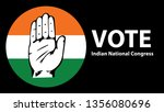 vote for indian national... | Shutterstock .eps vector #1356080696