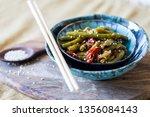 teriyaki vegetables beans  red...