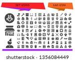 Set Icon Set. 120 Filled Set...