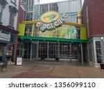 easton  pa  usa 3 31 19   main... | Shutterstock . vector #1356099110