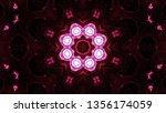 abstract colorful kaleidoscope... | Shutterstock . vector #1356174059
