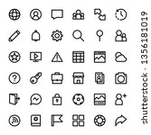 interface icon outline