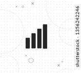 growth  growing graph  vector... | Shutterstock .eps vector #1356242246