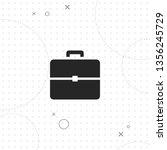 portfolio  briefcase  vector... | Shutterstock .eps vector #1356245729