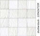 seamless leather patchwork... | Shutterstock . vector #1356267239
