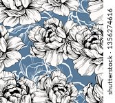 seamless ornament pattern... | Shutterstock .eps vector #1356274616