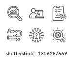 report checklist  data analysis ... | Shutterstock .eps vector #1356287669