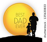 Happy Fathers Day Concept With...