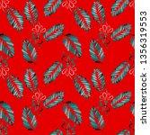 watercolor seamless pattern...   Shutterstock . vector #1356319553