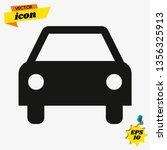 car icon.car icon vector on... | Shutterstock .eps vector #1356325913